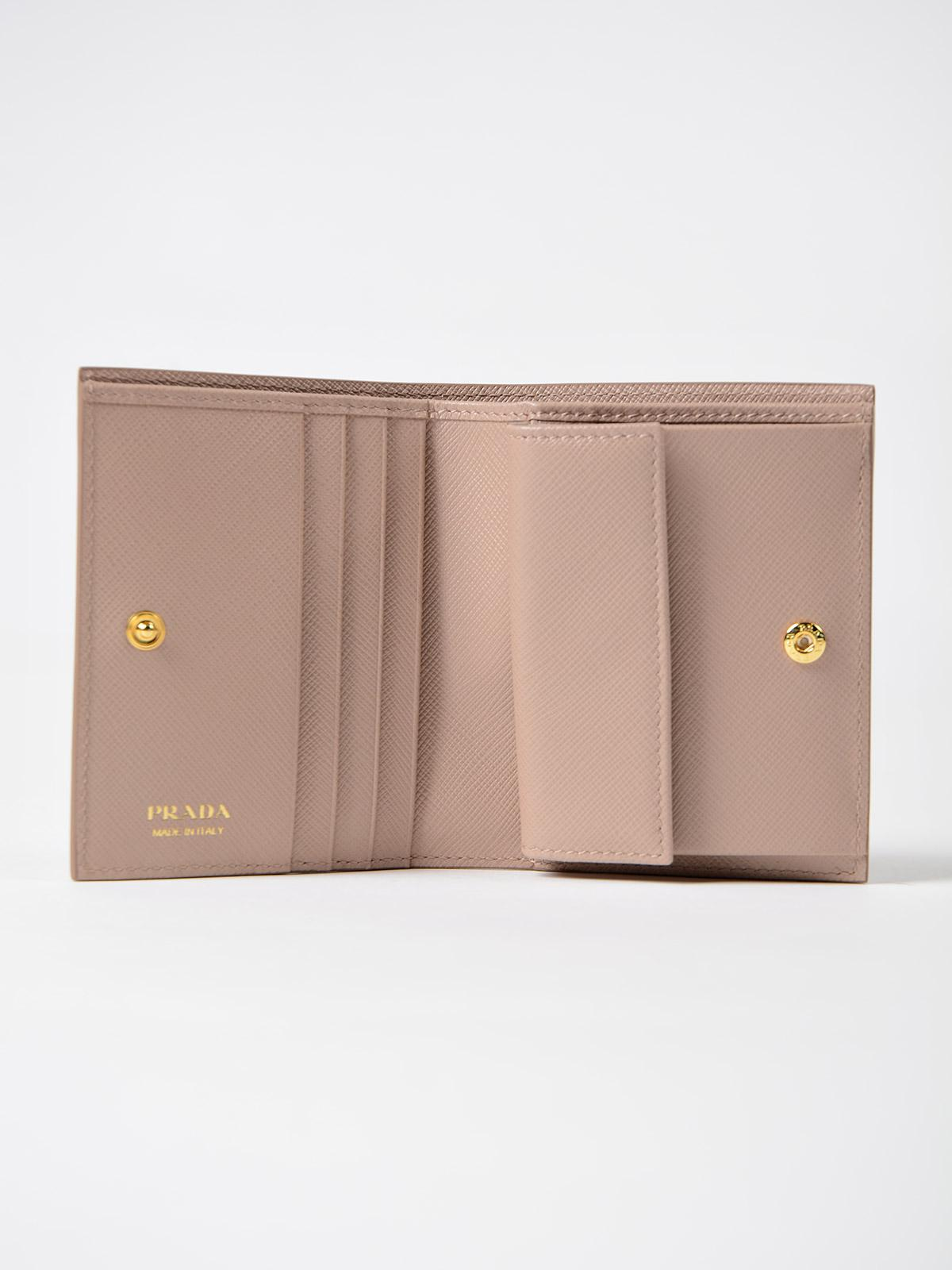 quality products for whole family preview of Saffiano Shine Small Wallet