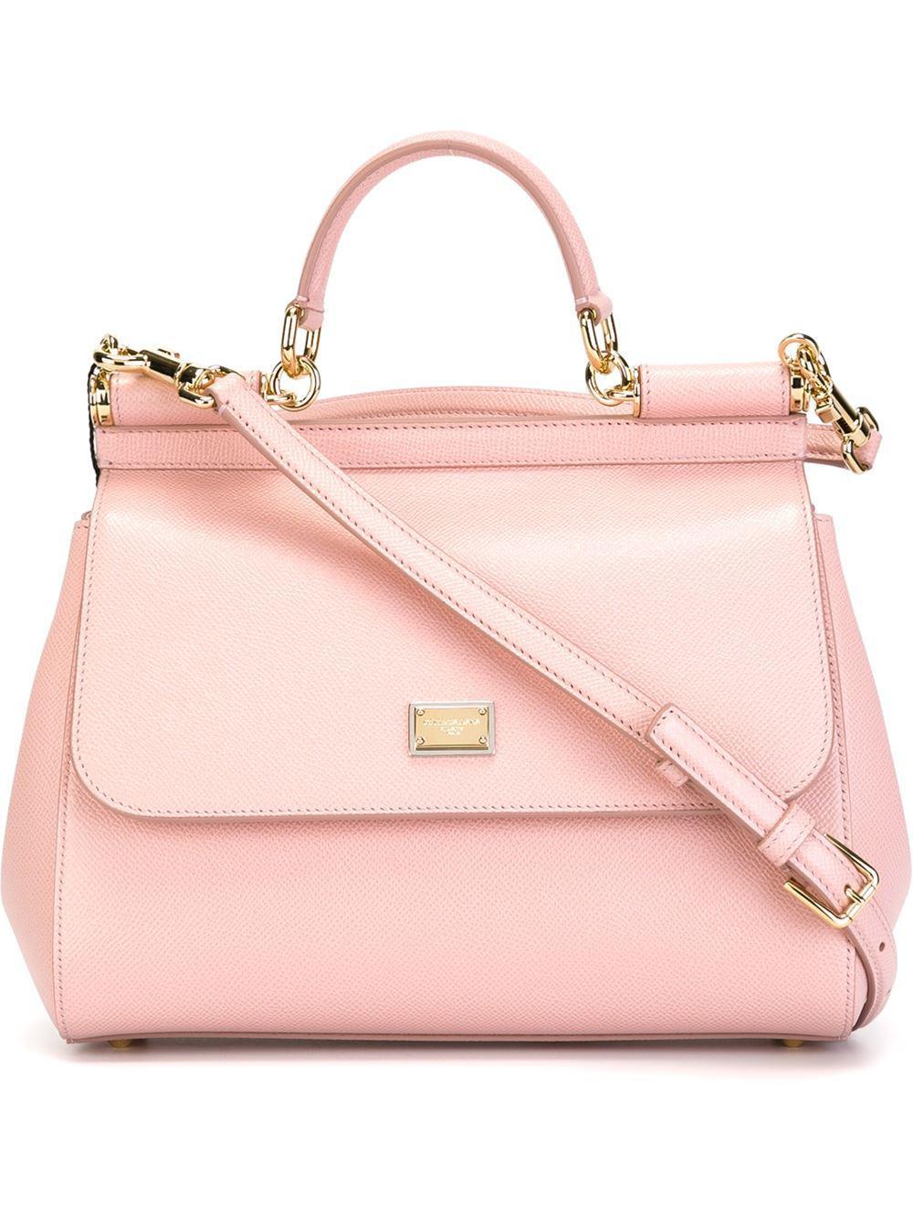 Dolce   Gabbana St.dauphine Handbag in Pink - Lyst 2d308307538be