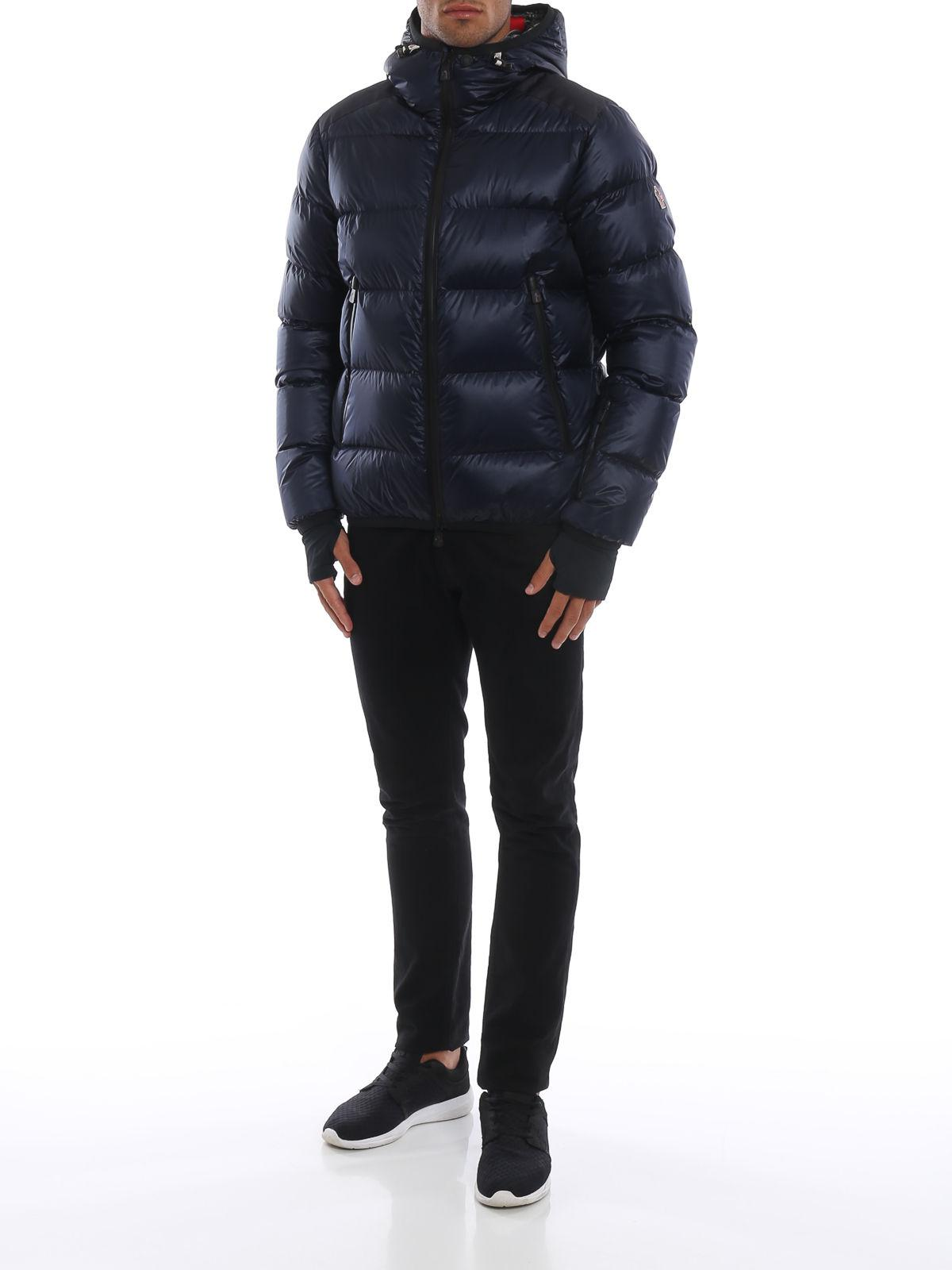 Lyst - Moncler Grenoble Hintertux Down Jacket in Blue for Men c35fb4aba