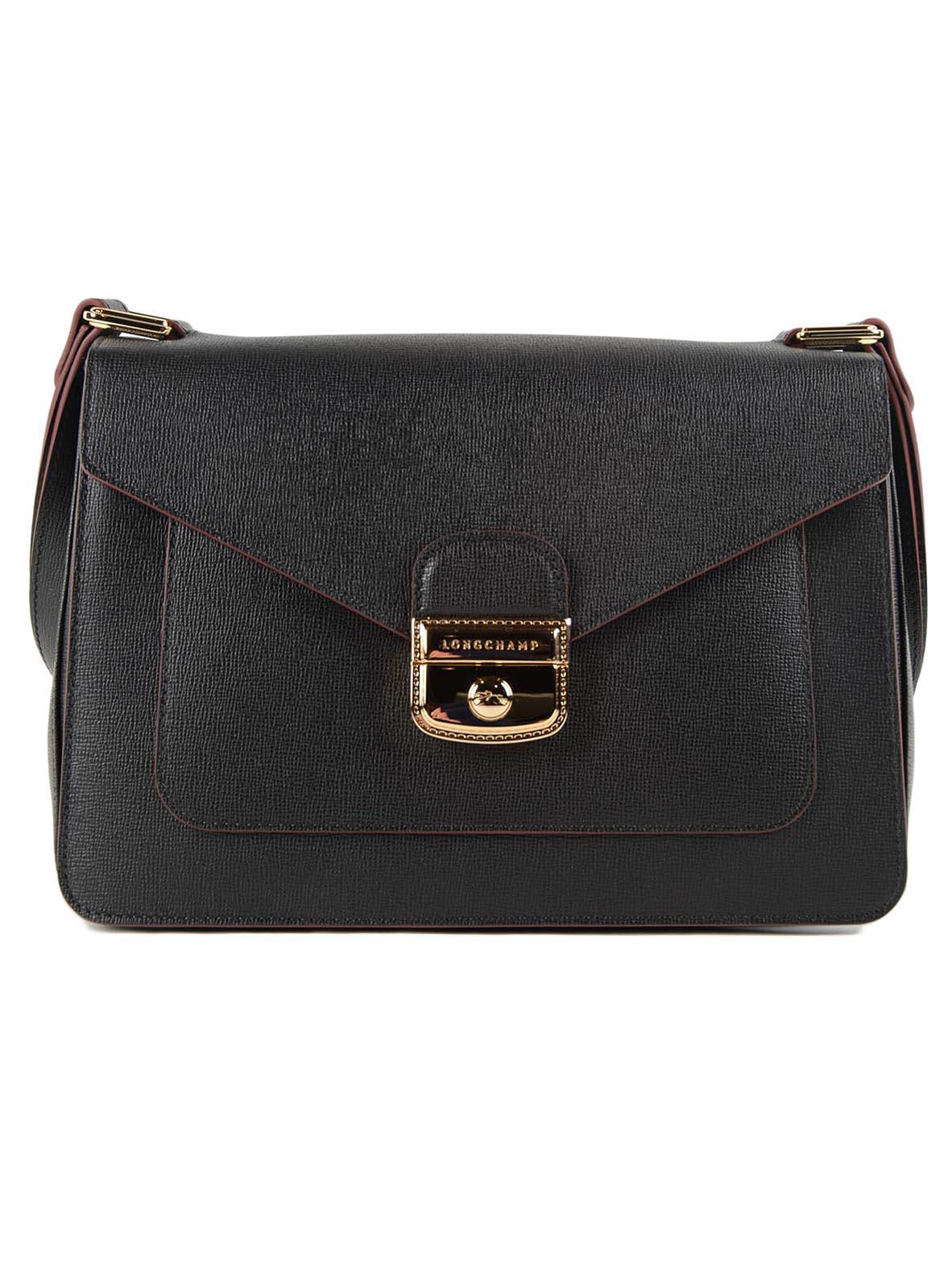 4368ea90dbe4 Longchamp - Black Le Pliage Heritage Shoulder Bag - Lyst. View fullscreen