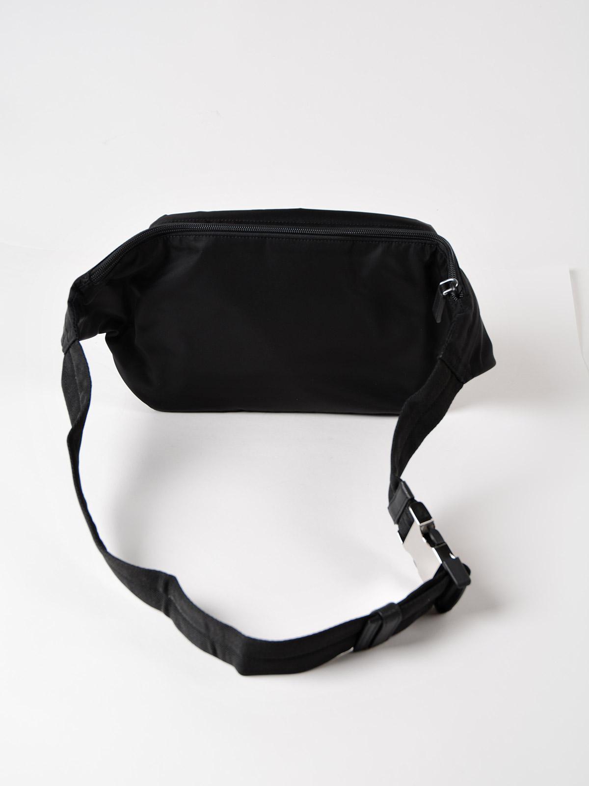 6f29b7db6692 purchase australia lyst prada tessuto montagna belt bag in black for men  fa1f5 9f726 5b59e 2638c