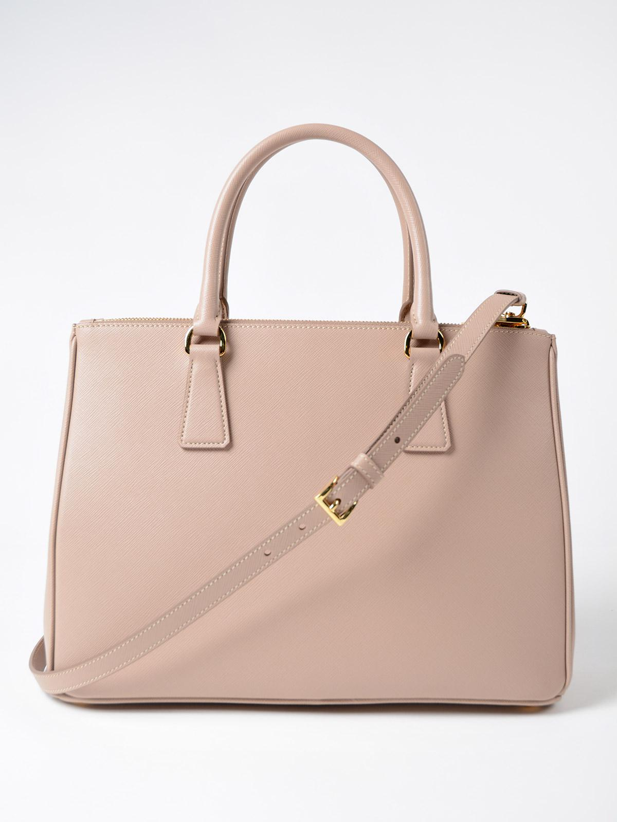 40b6557f73 ... promo code for lyst prada saffiano lux galleria bag ac1b5 53757