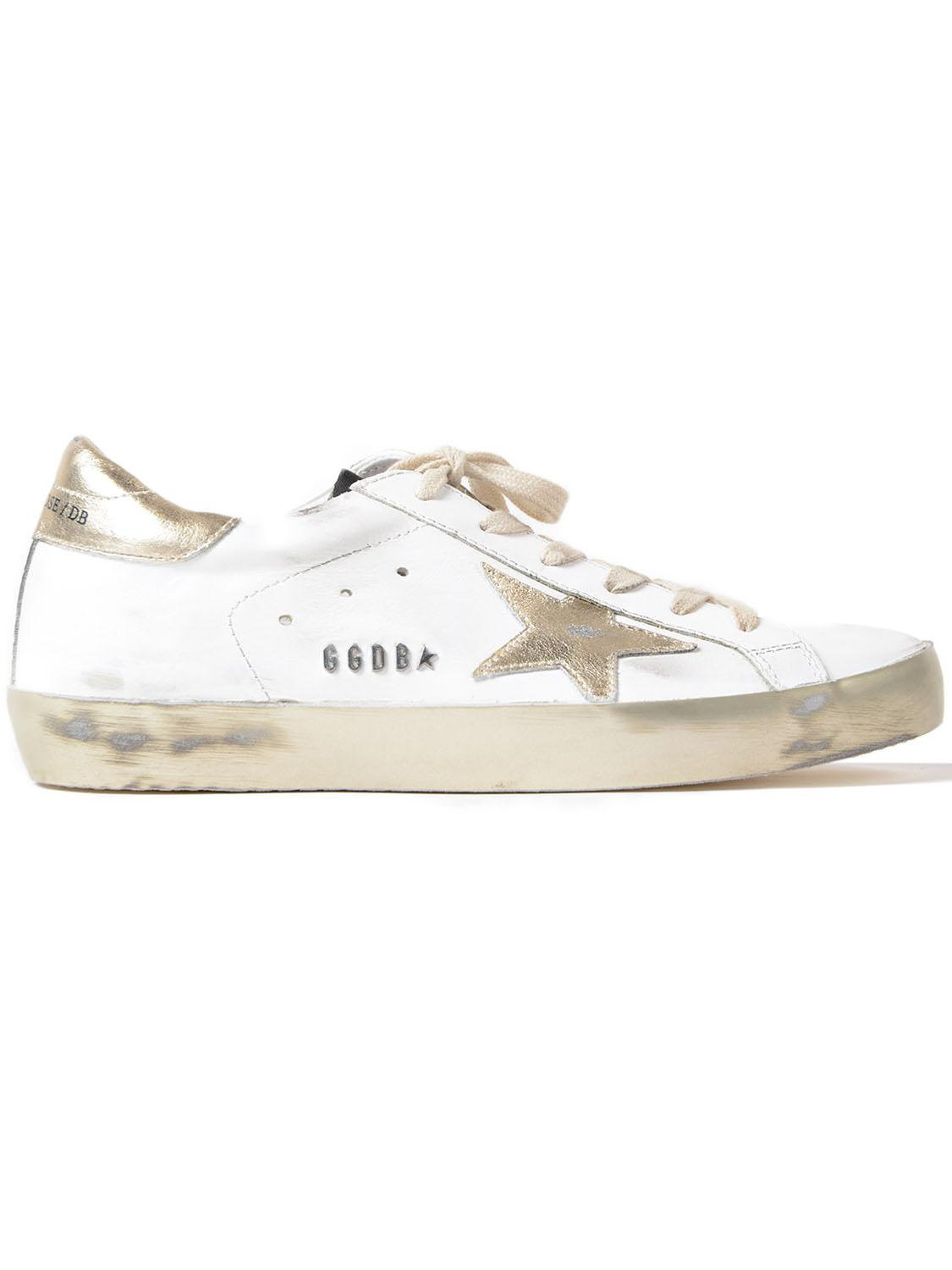 Leather Sneakers Superstar Gold Star