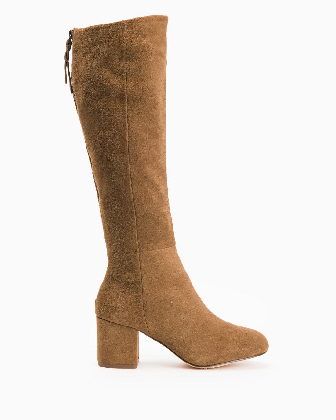 Splendid. Women's Brown Danise Over The Knee Suede Boot