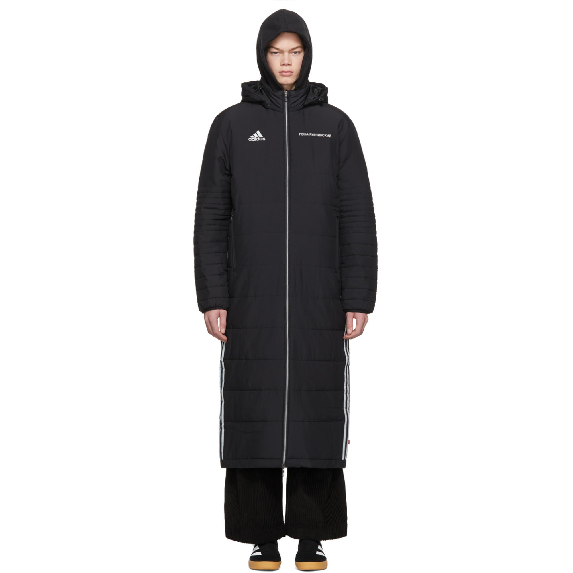 5bcdc085a Gosha Rubchinskiy Black Adidas Originals Edition Wind Coat for men