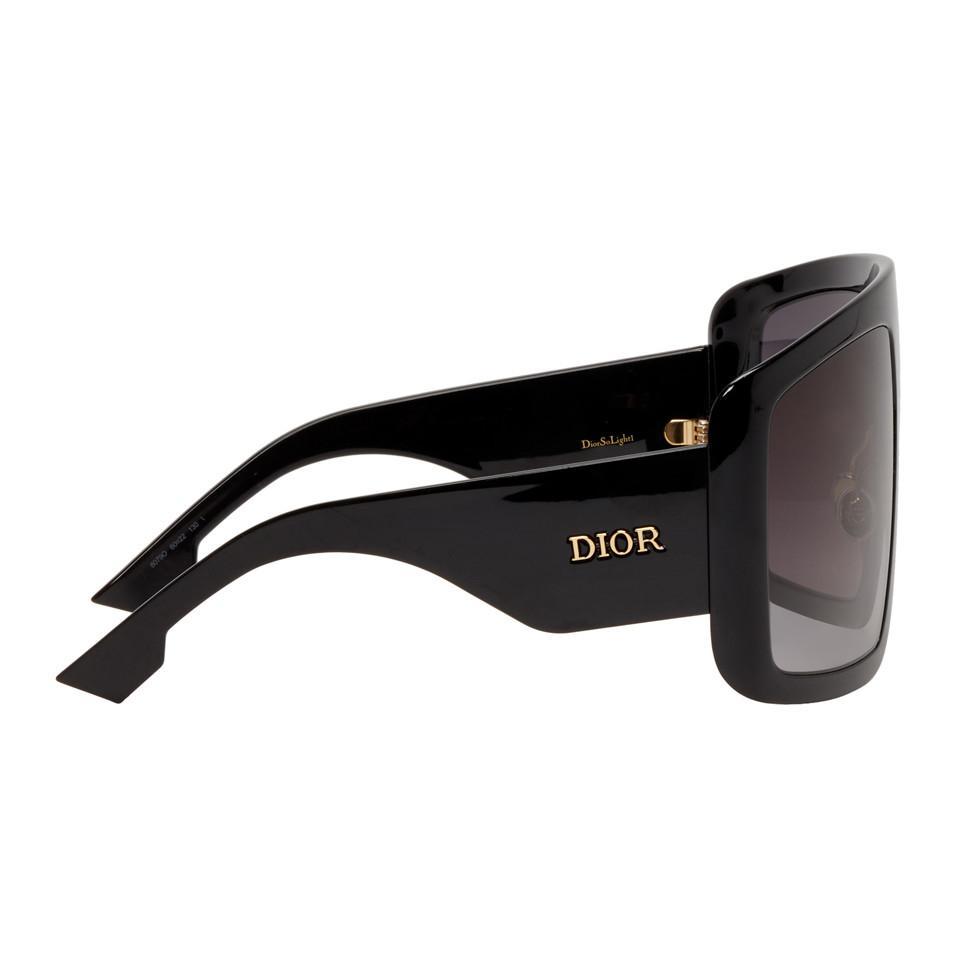 77c4d22138 Dior Black Solight1 Sunglasses in Black - Save 5% - Lyst