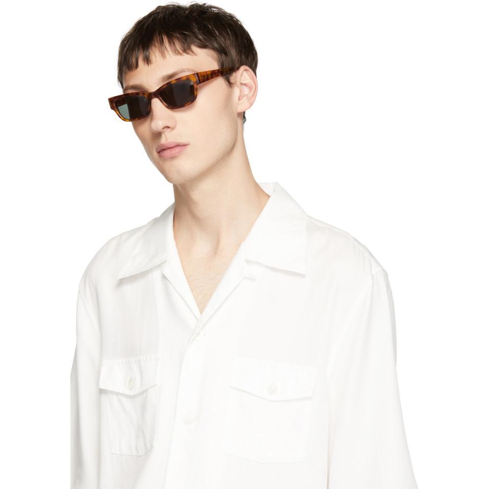 45b608cb540b Han Kjobenhavn Tortoiseshell Moon Sunglasses for Men - Lyst