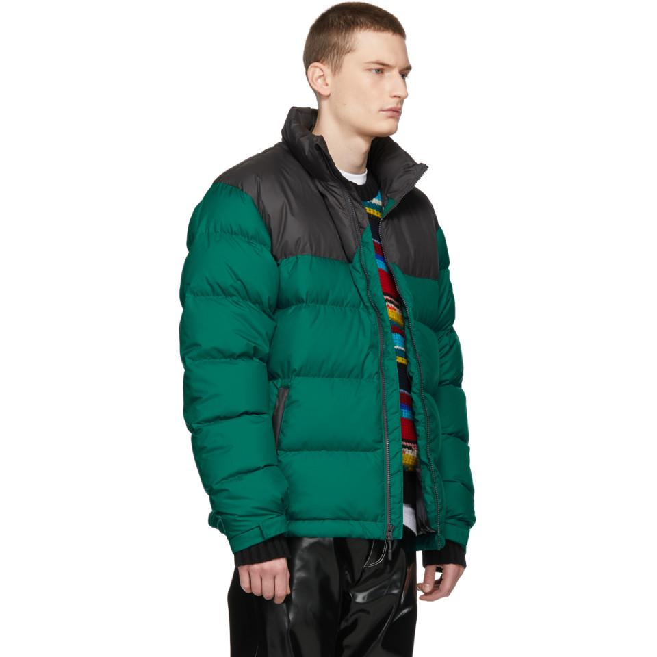36d63c3c93 Lyst - The North Face Green Down 1992 Retro Nuptse Jacket in Green ...