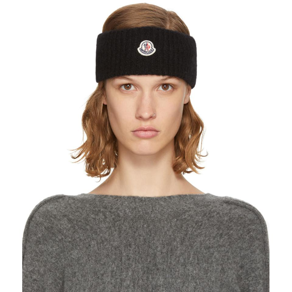 White Logo Headband Moncler eFqrY
