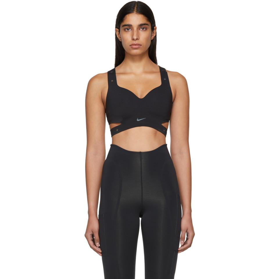 d02da46a24618 Nike Black Xx High Support Sports Bra in Black - Lyst