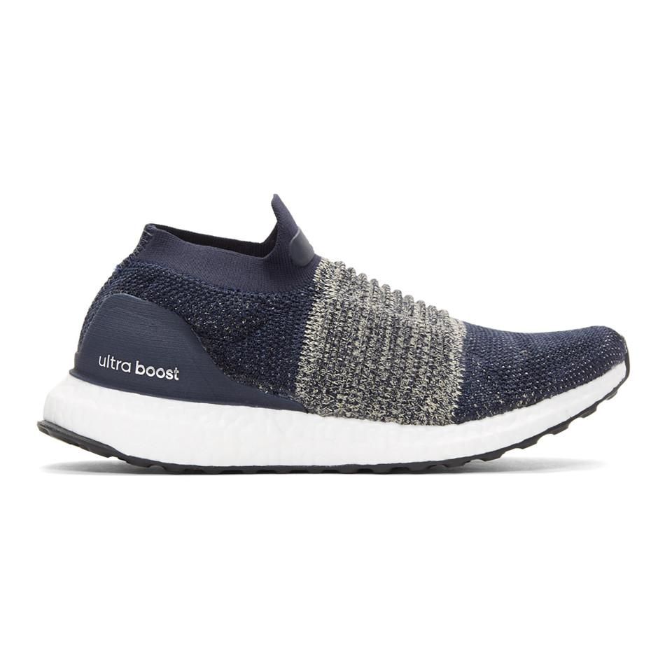 lyst adidas originali marina ultraboost laceless scarpe in blu