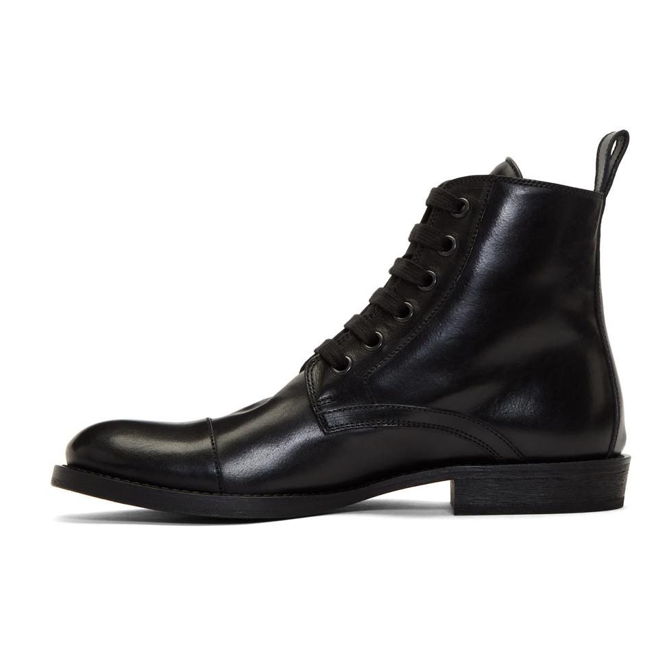 Clearance 2018 ANN DEMEULEMEESTER Maine Lace-Up Boots Free Shipping Enjoy Cheap With Credit Card IOOK0E