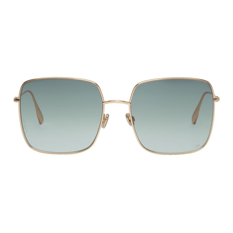 ade2d2f7973 Dior Homme Gold And Grey Dior Stellaire 1 Sunglasses in Gray for Men ...