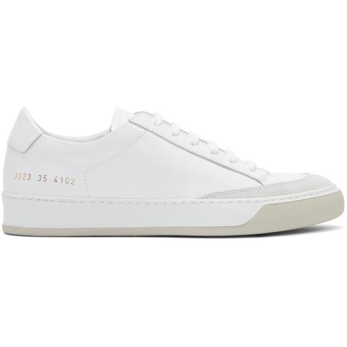 Common Projects. Women's White Tennis Pro Sneakers