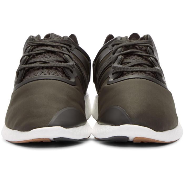 Y-3 Green Yohji Run Sneakers