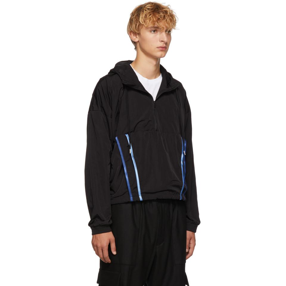 Cottweiler Synthetic Black Signature 3.0 Hooded Jacket for Men