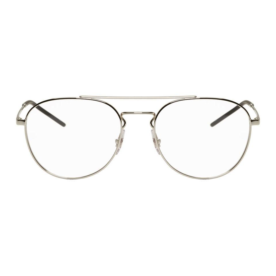 29137db22 Ray-Ban Silver Youngster Glasses in Metallic for Men - Lyst
