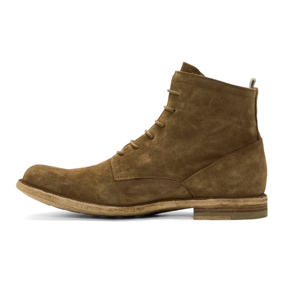 Tan Suede Ideal 19 Boots Officine Creative