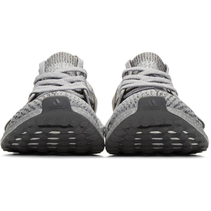 d7f54f97edcc0 ... uk lyst adidas originals grey ultraboost x ltd slip on sneakers in gray  30dad fcd2a