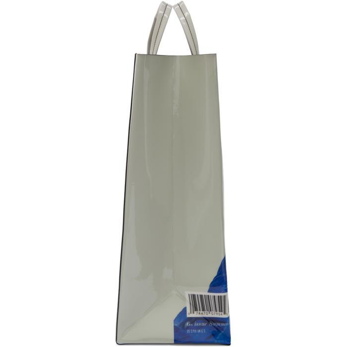 Acne Studios Synthetic White Acne Paper Baker Tote