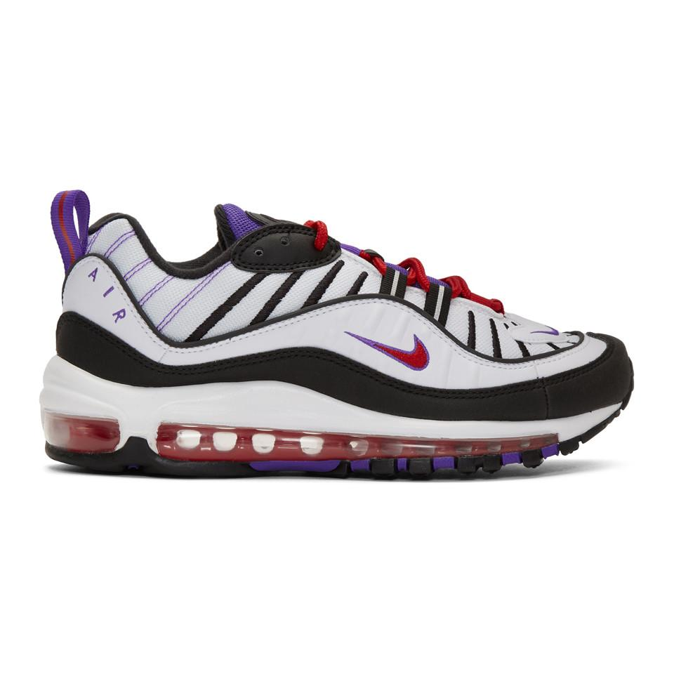 Nike Leather Air Max 98 Se in White for Men - Lyst