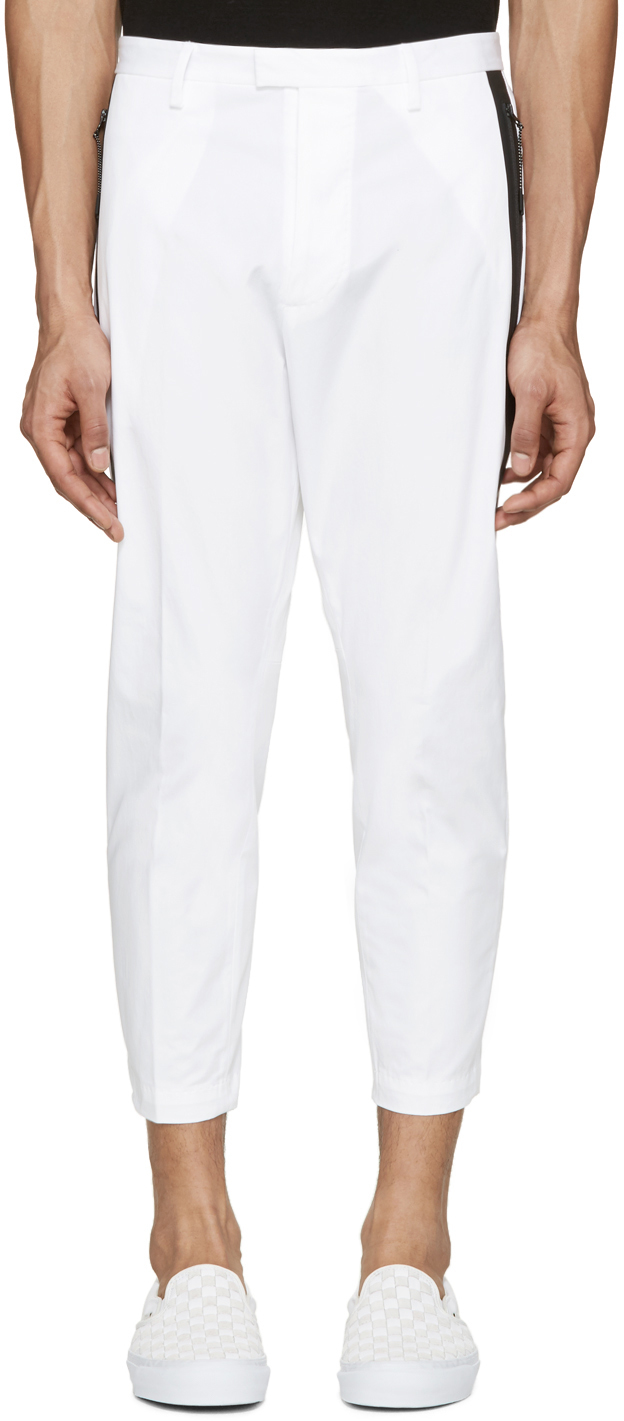 Shop now for Men's White Pants including Pleated Men's White Pants, Drawstring Men's White Pants and Dress Men's White Pants at Macy's. Mens White Pants. Narrow by Brand. Perry Ellis. Dockers. INC International Concepts. Under Armour. Cubavera. Nike. Polo Ralph Lauren. See More. NEW Dockers Signature Lux Cotton Straight Fit Stretch.