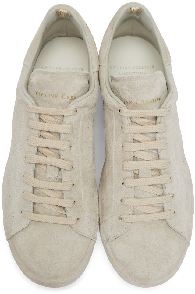 Lyst Officine Creative Grey Ace Sneakers In Natural For Men