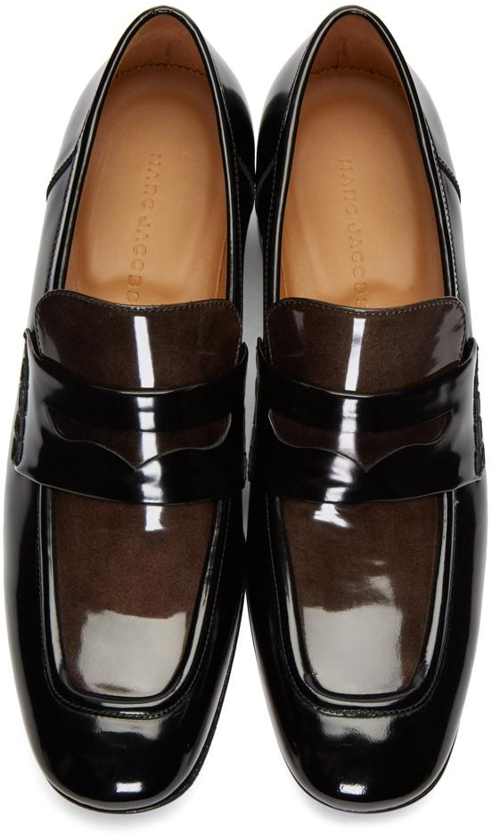 Marc Jacobs Leather Black Two-tone Loafers for Men