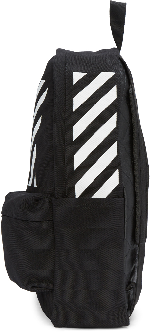 off white c o virgil abloh black diagonals backpack in. Black Bedroom Furniture Sets. Home Design Ideas