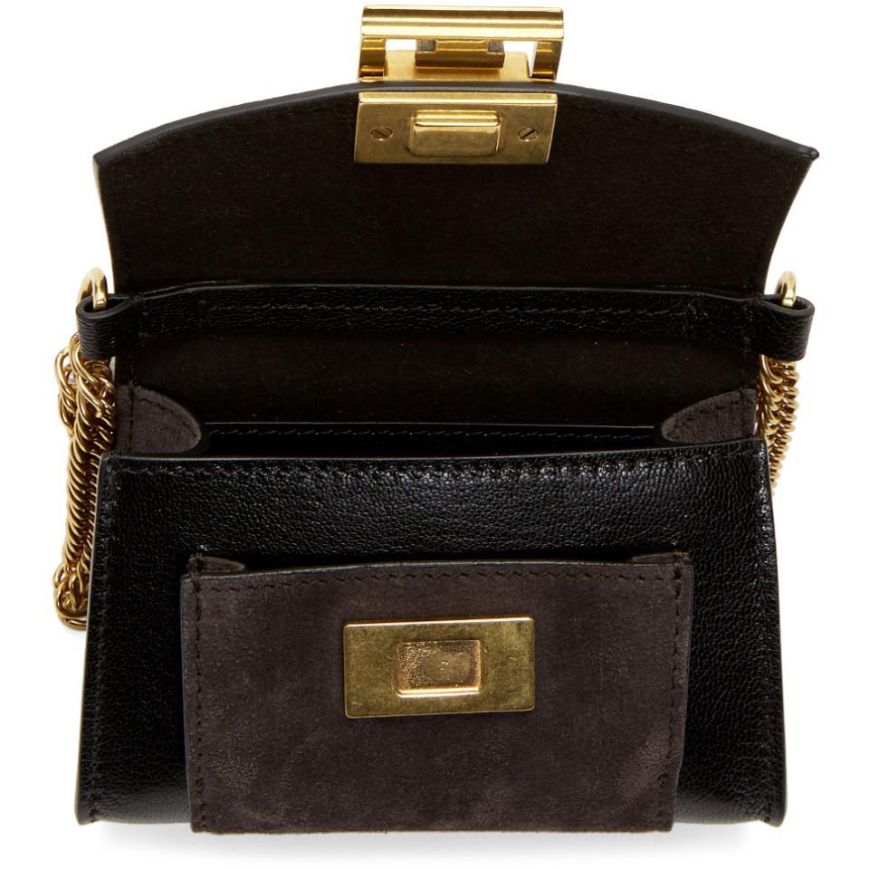 903779b57c7d Givenchy - Gray Black And Grey Nano Gv3 Bag - Lyst. View fullscreen