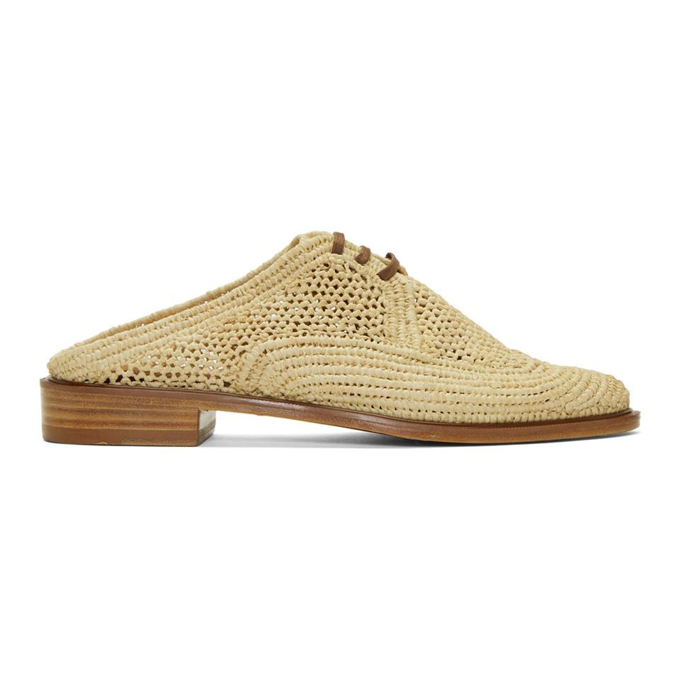 Clergerie Beige Jaly Slip-On Derbys cYLaRBU3x