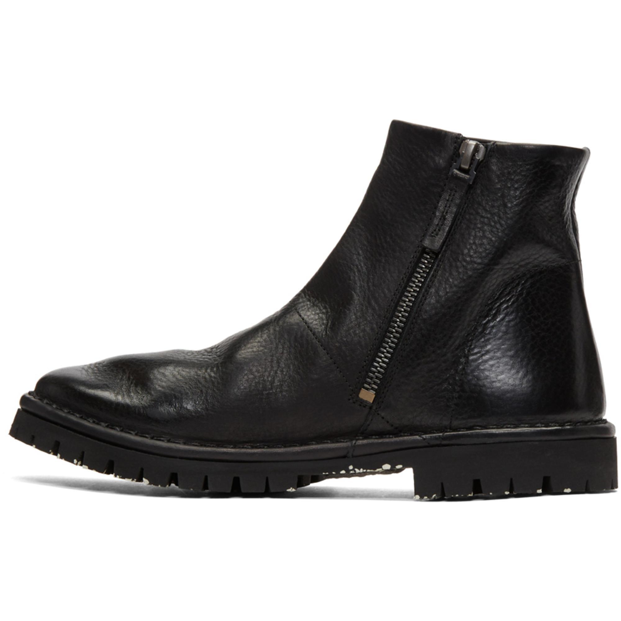 MARSèLL Black Santacco Boots Sites À Bas Prix LCjLE