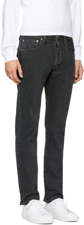 Levi's Denim Black 501 Original Jeans for Men
