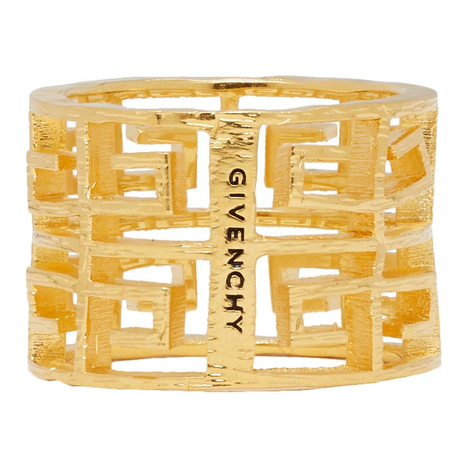 Givenchy Gold 4g Ring in Metallic - Lyst