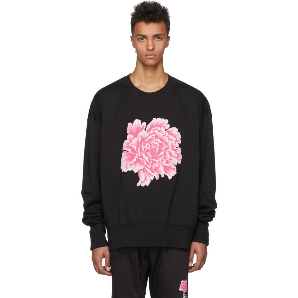 58bca02970e Y-3 Black James Harden Graphic Crew Sweatshirt in Black for Men - Lyst