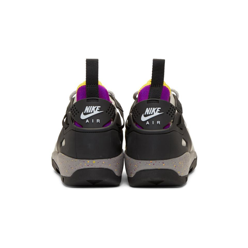 Nike Suede Grey Air Revaderchi Sneakers in Granite (Grey) for Men