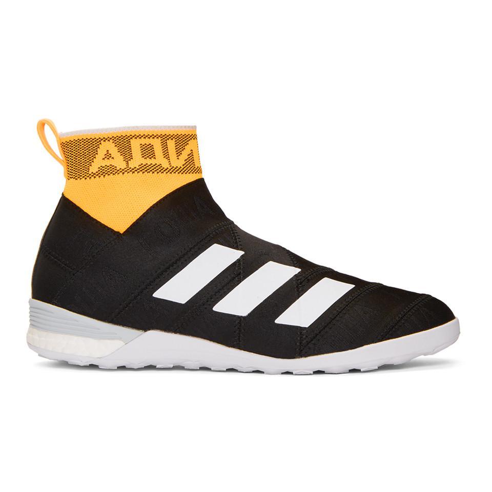 Black adidas Originals Edition Nemeziz High-Top Sneakers Gosha Rubchinskiy Outlet Find Great 4xnyArzwuS