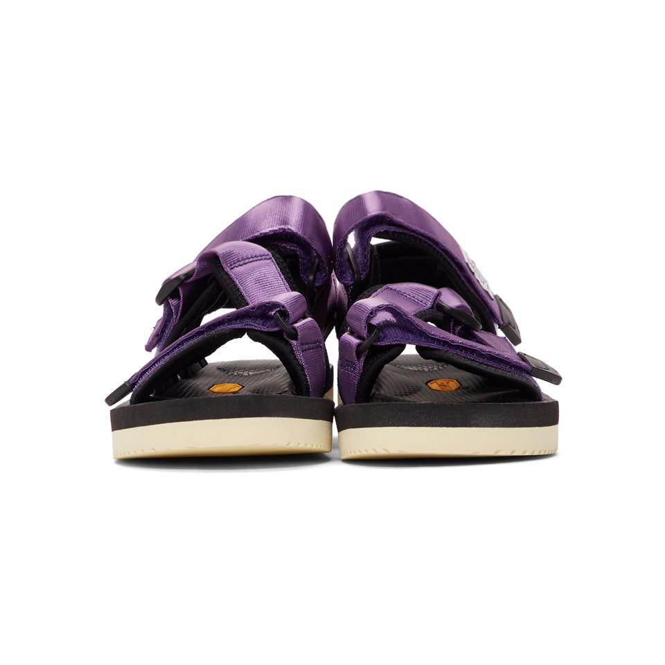 542db64fa05a Lyst - Suicoke Purple Kisee-v Sandals in Purple for Men