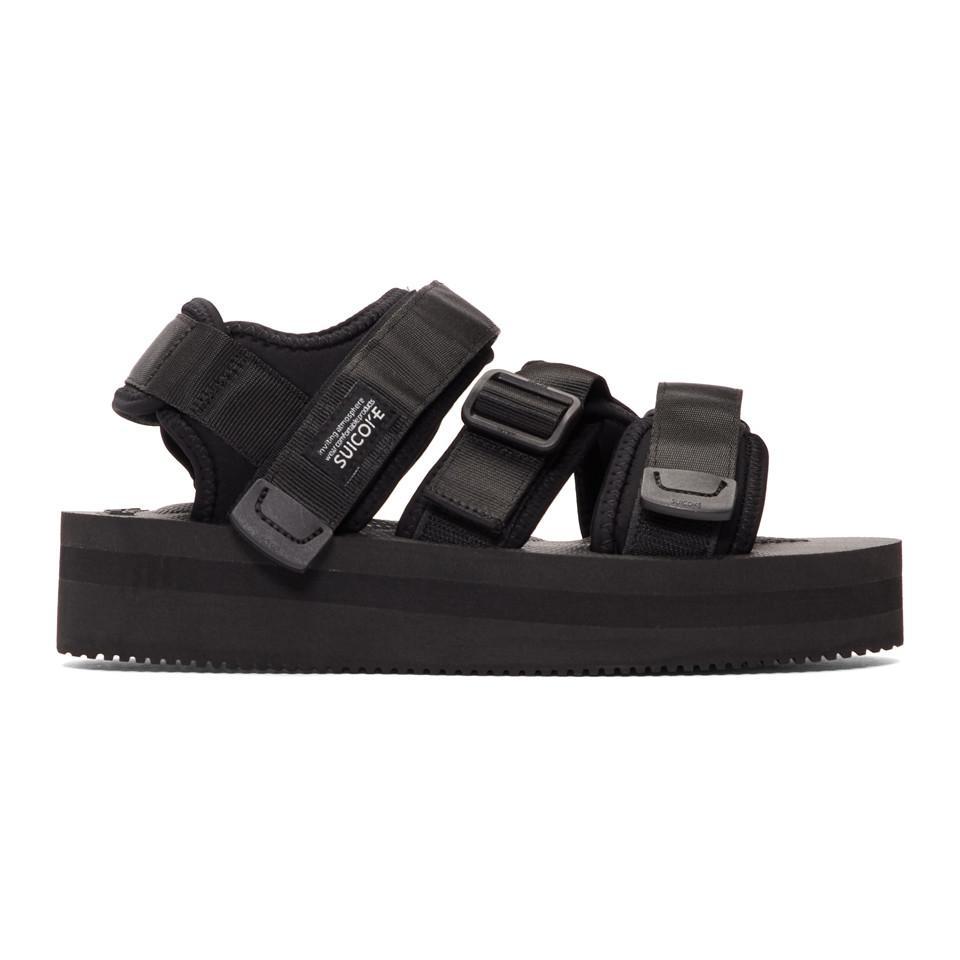 f73acaea272 Lyst - Suicoke Black Kisee-vpo Sandals in Black for Men
