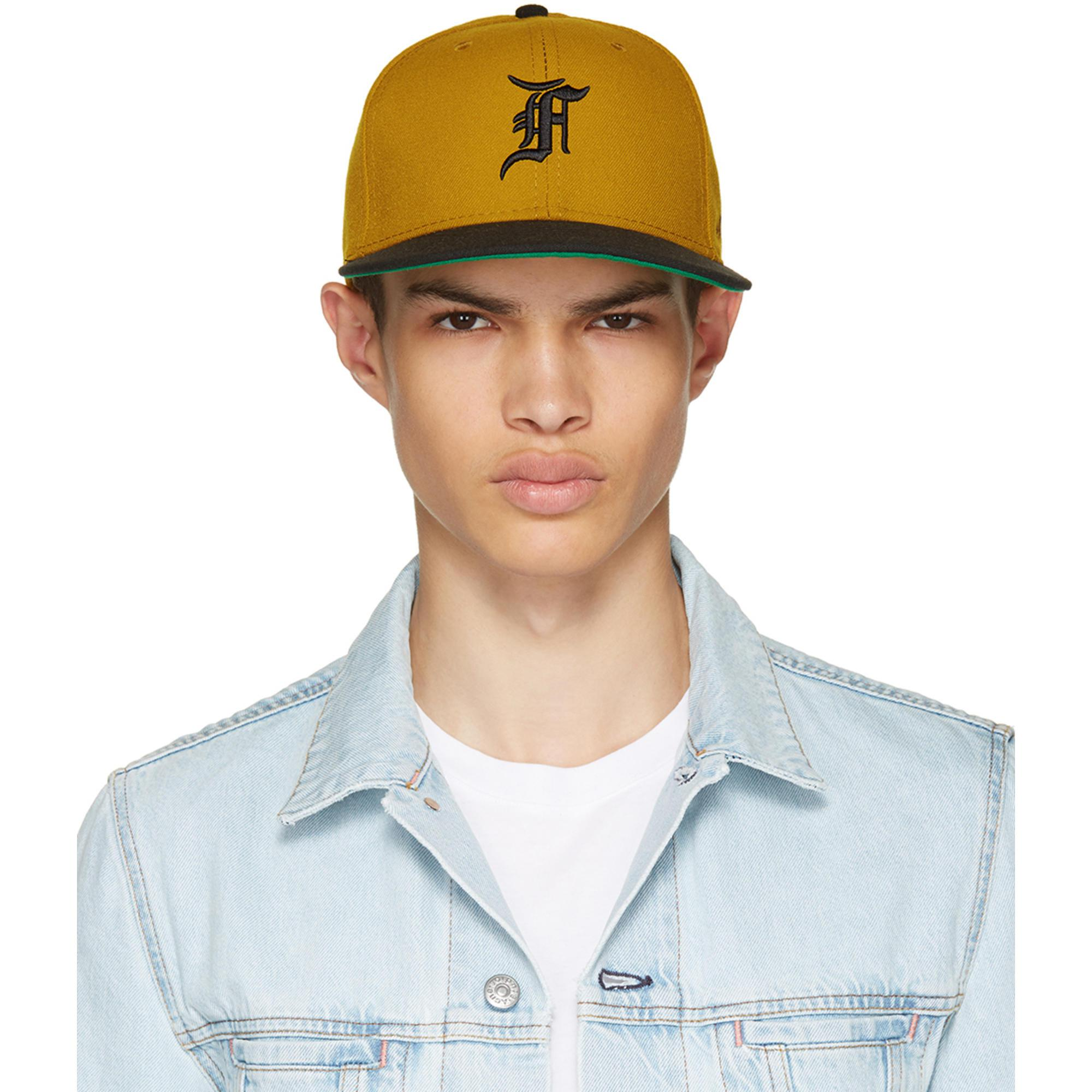 Lyst - Fear Of God Tan New Era Edition Cap in Blue for Men e941721a549