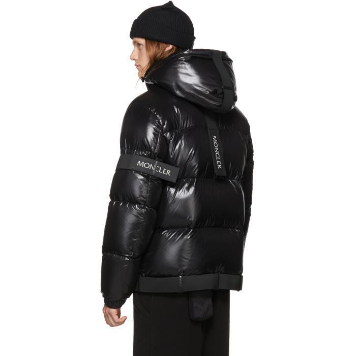 b7dd425535c ... hot lyst moncler black down brook jacket in black for men f34e8 c9042