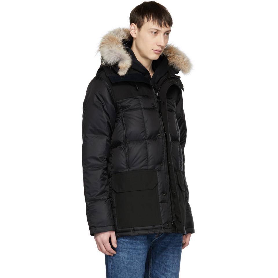 e1fb3aac2c3 inexpensive canada goose langford parka black label 34666 2ed93