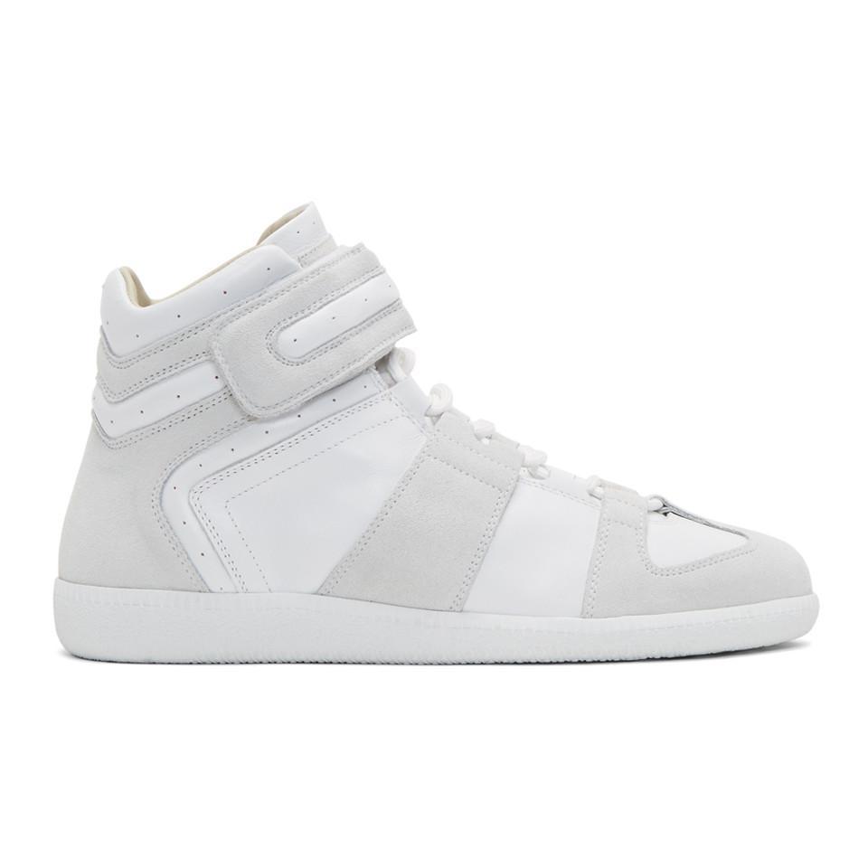 Maison Margiela Velcro Wrestler Sneakers QzbxaWVOxS