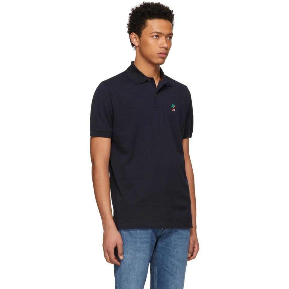 Navy Naked Lady Gents Polo Paul Smith Clearance New mdpi8FQ