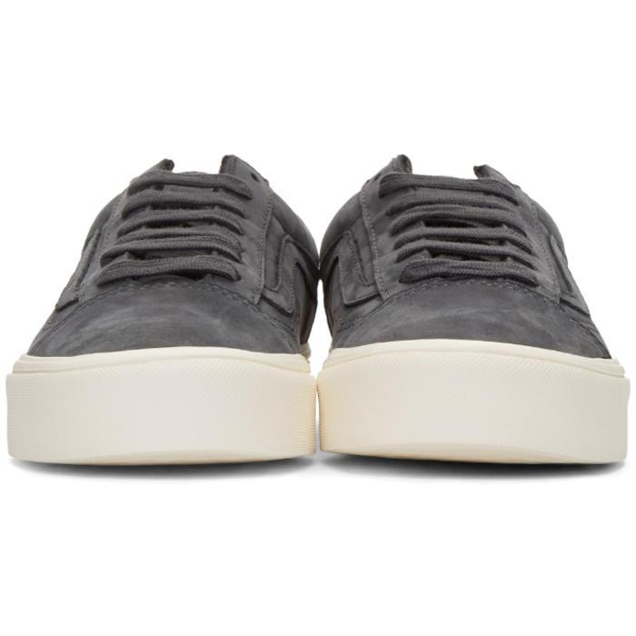 26c7d7a41a Lyst - Vans Grey Nubuck Old Skool Lite Lx Sneakers in Gray for Men