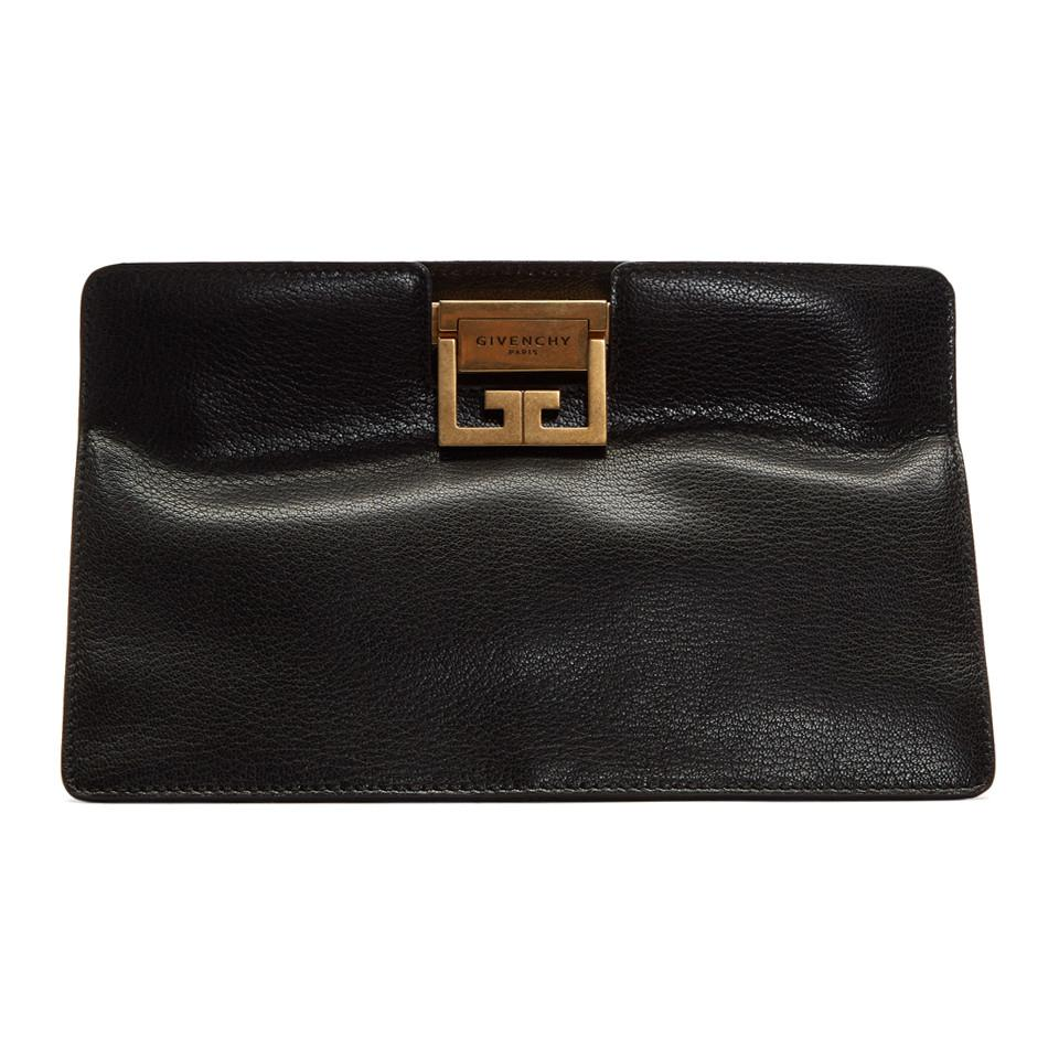 Black GV3 Frame Clutch Givenchy pqvcX5Spi