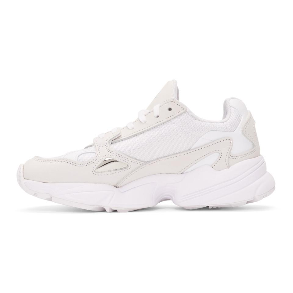 c9bf52d47046 Lyst - adidas Originals White Falcon 90s Running Sneakers in White