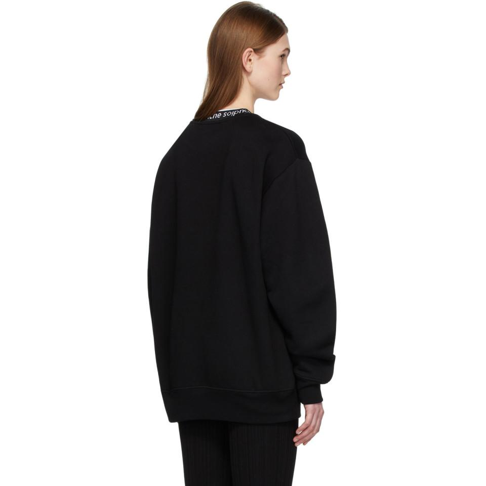 Acne Studios Synthetic Cable Knit Crew Neck Jumper in