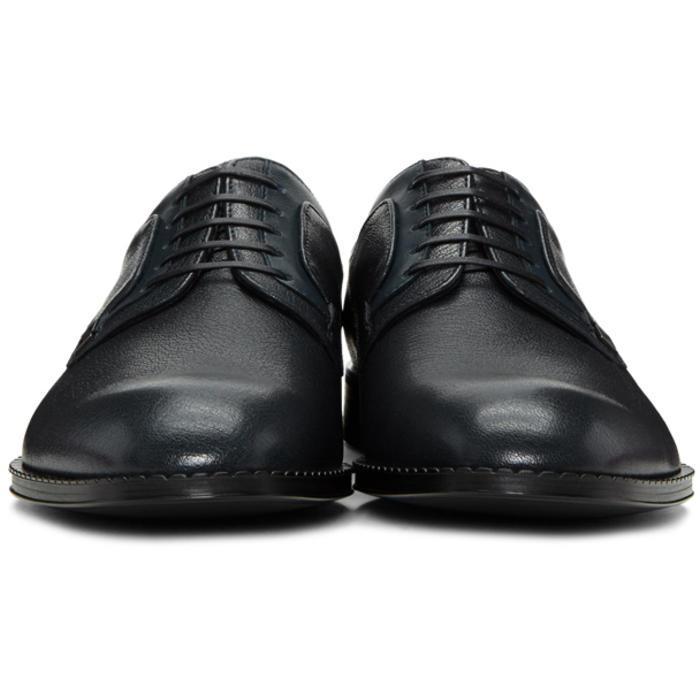 Hackett Men S Black Lace Up Shoes