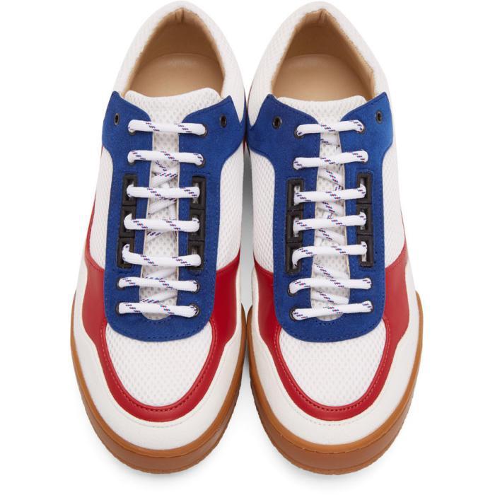 Rick Owens Tricolor Lava Jacquard Sneakers kk18GBe